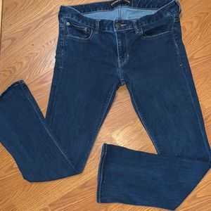 Express barely boot low rise jeans Size 10 euc